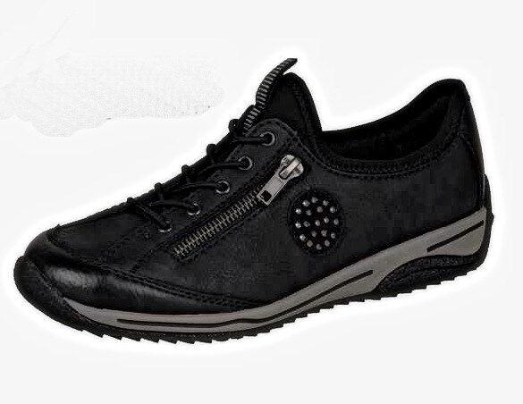 Rieker Scarpe Donna scarpe da da da ginnastica, l5262-00, Tg. 37-42 +++ NUOVO +++ | Eccellente valore  | Scolaro/Signora Scarpa  005d5f