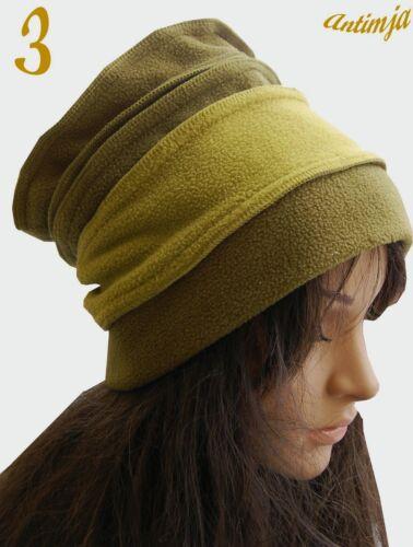 Mütze Fleece Hippie Elfen Feen Goa Psy Kopfbedeckung Beanie Sherpamütze Hippie