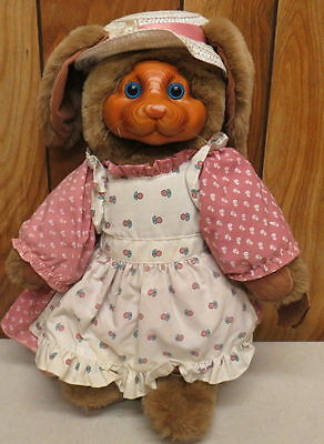 "Robert Raikes Bears 1988 16""  Mrs Nickleby Easter Bunny 20398 #21/7500 Rabbit"