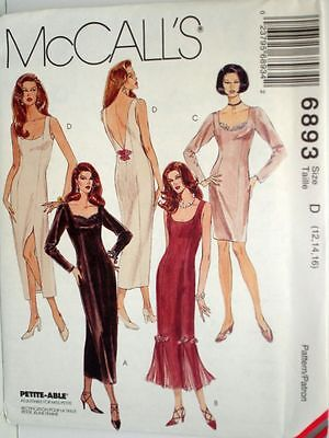 McCalls Sewing Pattern # 6981 Girls Dress w// Decorative Collar Choose Size