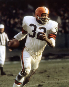 Jim Brown Football >> Details About Cleveland Browns Runningback Jim Brown Glossy 16x20 Photo Football Print Poster