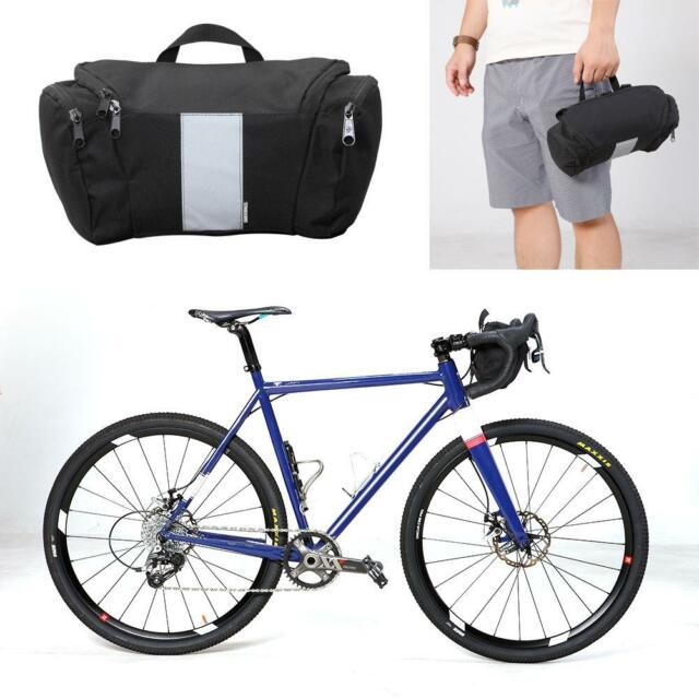 Outdoor Bike Cycling Bag Bicycle Front Frame Waterproof Bag Mobile Phone Pouch R