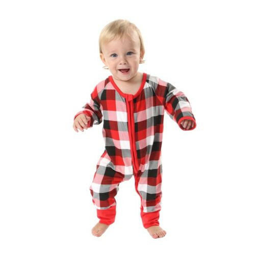 Family Matching Christmas Pajamas Christmas Adult Baby Kids Sleepwear Nightwear