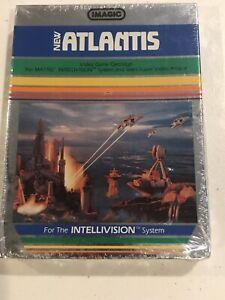 Atlantis-1982-Intellivision-Video-Game-Mattel-Electronics-Imagic-New-Sealed