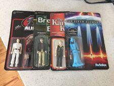 Reaction Figures Mixed Lot - Fifth Element, Karate Kid, Breaking Bad, Aliens-new