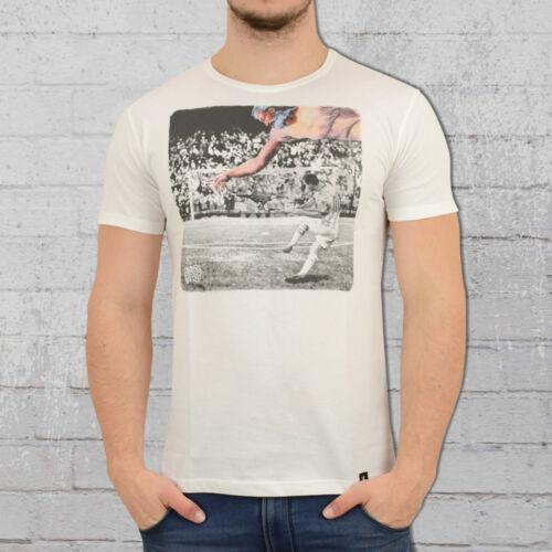 Dirty Velvet T-shirt hommes Mains de Dieu of God Blanc organic cotton BIO COTON