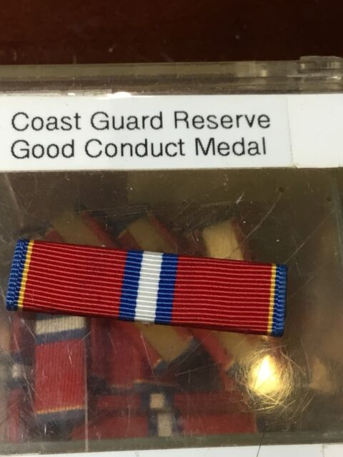 U s  Coast Guard Reserve Good Conduct Medal