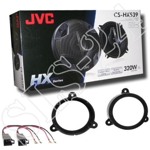 adaptadores anillos 130mm renault Wind 10-12 JVC cs-hx539 altavoces puerta frontal//Heck