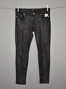 Mankind scuro nero 7 color Pantaloni di pelle 30 All Faux in skinny For New 198 ExqvwqPH