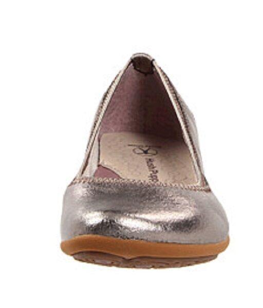 6953e1094b144 Hush Puppies KRIYA Platinum Platinum Platinum Skimmer Ballet Flats ...