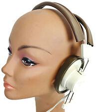 TELEX 610 Dual Headphones - BRAND NEW - VINTAGE - 1/4 INCH INPUT - CHEAP!