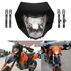 Headlight-Head-Lamp-Light-Streetfighter-For-EXC-XCF-XCW-SXF-KTM-Motorcycle-Gi-VU