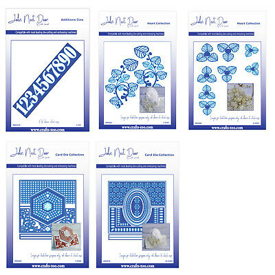 Card Die Collection /& Additions Dies /& Clear Stamps FREE UK P/&P John Next Door