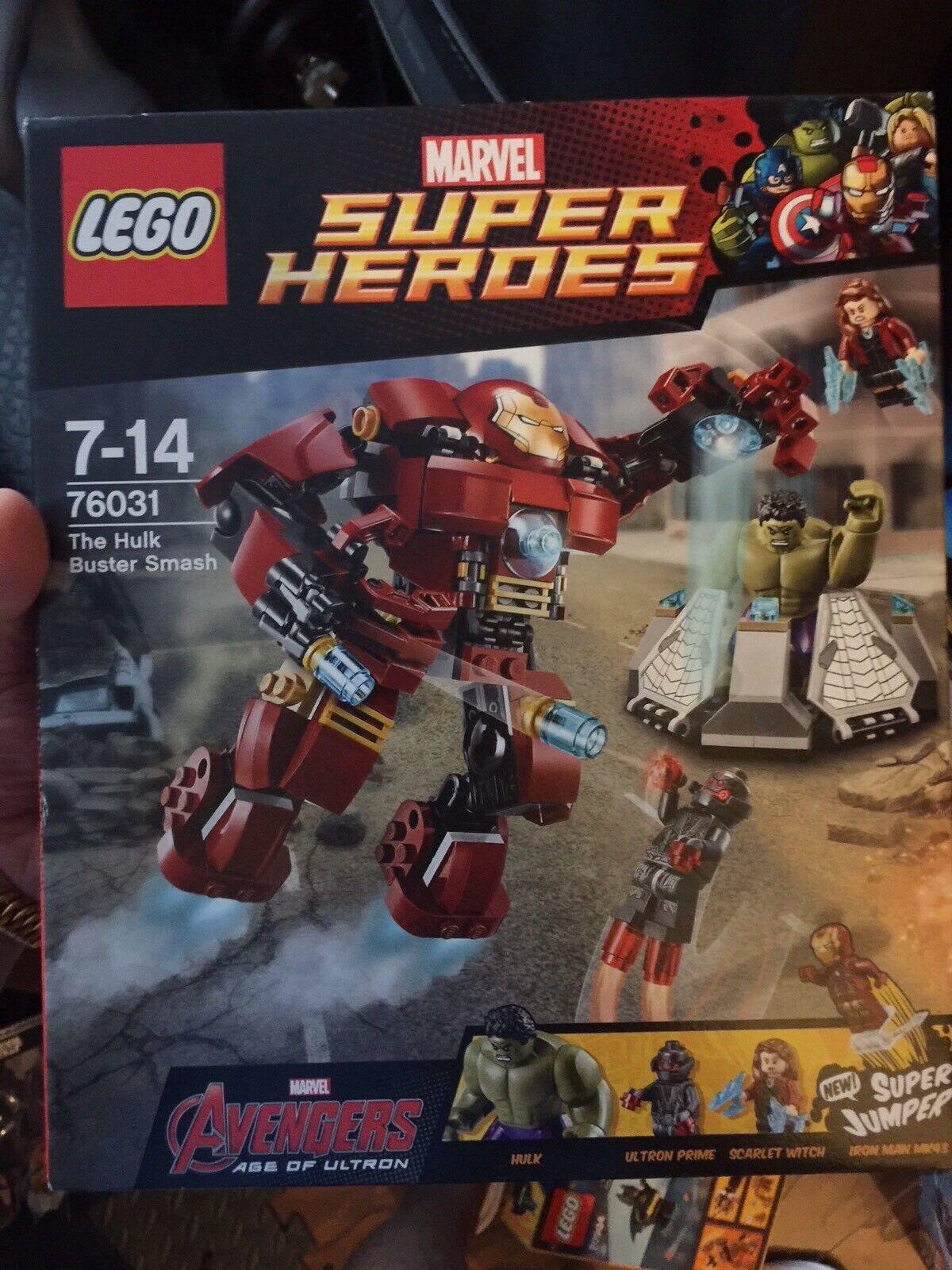 Lego Hulkbuster Smash 76031 New Rare Retirot Set