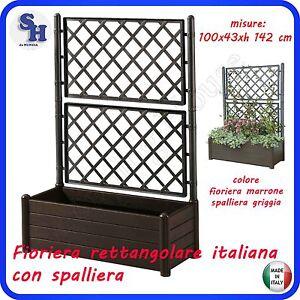 Vaso fioriera italia separe spalliera grata griglia - Separe per giardino ...