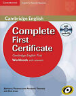 Complete First Certificate for Spanish Speakers Workbook with Answers with Audio CD by Amanda Thomas, Barbara Thomas (Mixed media product, 2011)
