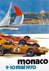 AV96-Vintage-1970-28th-Monaco-Grand-Prix-Motor-Racing-Poster-Re-print-A3-A4