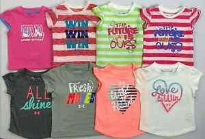 Infant Baby Girl/'s Under Armour Heat Gear T-Shirt