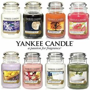 Yankee-Candle-Scented-Fragrance-Candles-Classic-Luxury-Large-22oz-Glass-Jar-623g