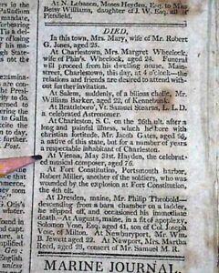 Details about FRANZ JOSEPH HAYDN Austrian Classical Music Composer Vienna  DEATH 1809 Newspaper