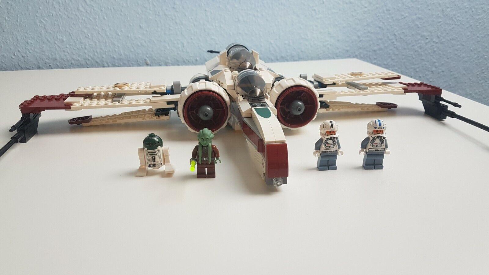 Lego Star Wars 8088 - - - ARC-170 Starfighter - Guter Zustand 7b6225