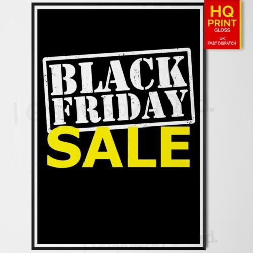 SALE SHOP 50/% OFF Black Friday Posters Prints Print Sizes A4 A3 A2 A1