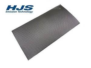 1x HJS 83000030 Hitzeblech 500 x 1000 mm Schutzblech Abgasanlage Hitzeschutz