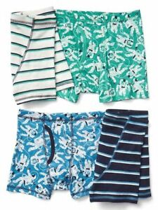 82987c819c2 New Gap Kids 4 Pack Boxer Briefs Underwear 4 5 6 7 8 12 14 NWT Space ...