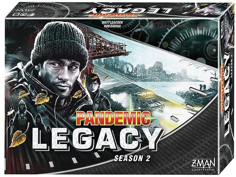 Pandémie Legacy saison 2 Board Game