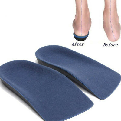 3//4Orthotic Insole Shoe Cushion Arch Support Flat Feet Pronation Fallen XS-XL