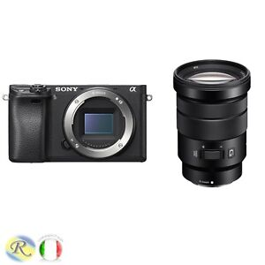 SONY-MIRRORLESS-A6300-6300-ALPHA-6300-ILCE6300-18-105MM-SELP18105G-GARANZIA