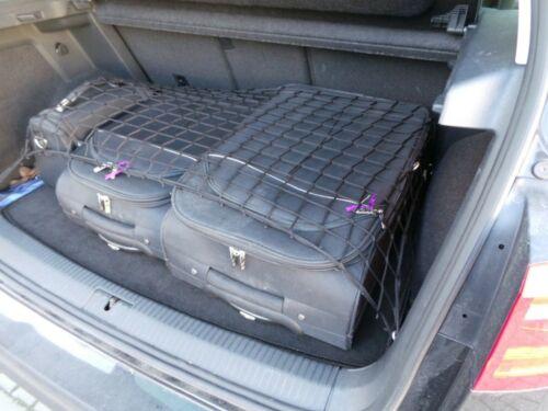 Größe 80x160 cm Kofferraumnetz Schwarz Gepäcknetz Autonetz Schutznetz