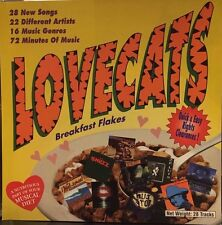 LOVECAT MUSIC SAMPLER - 28 TRACK MUSIC CD - LIKE NEW - G329