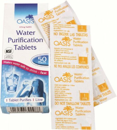 Oasis Katadyn Micropur Forte m1t 100 Comprimés eau désinfection Comprimés Oasis