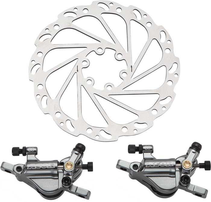 Acor Hydraulic Dual Piston Disc Brakes Road Racing Bike Cyclo Cross Cyclo-cross