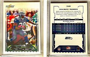 Maurice Morris Signed 2006 Score #248 Card Seattle Seahawks Auto Autograph