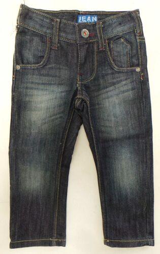 Chicos Jeans edad 3-13 por Jean Equipo Corte Recto Oscuro Pantalón Denim para niños