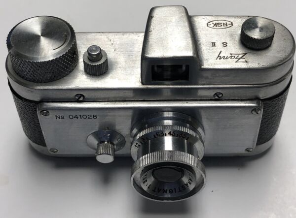 (Rare) Zany S II 1950 Subminiature camera 10x14mm film first one I have seen