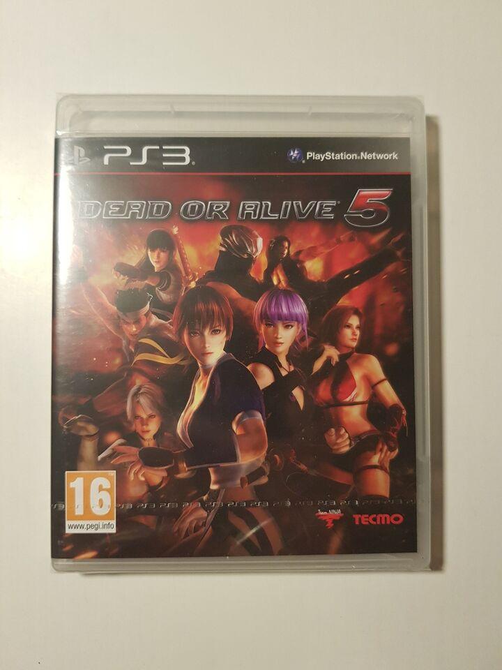 (Nyt i folie) Dead or alive 5, PS3