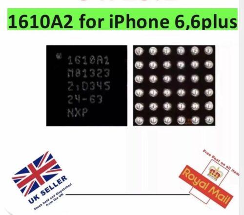 5 un. 1610A2 para iPhone 5s, 5c, 6G 6 Plus U2 Cargador USB CARGA IC Chip 36pin Reino Unido