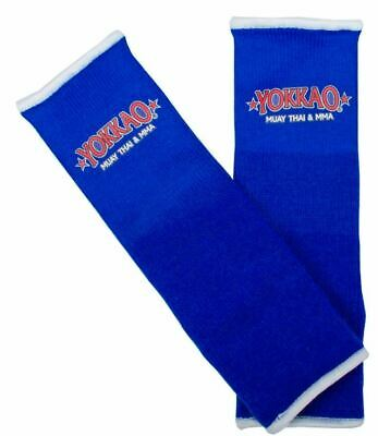 Muay Thai Protection Anklet Sandee Premium Blue /& White Ankle Supports pair