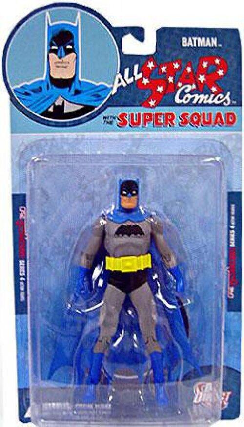 Reactivated Series 4 All Star Comics Super Squad Batman Action Figure