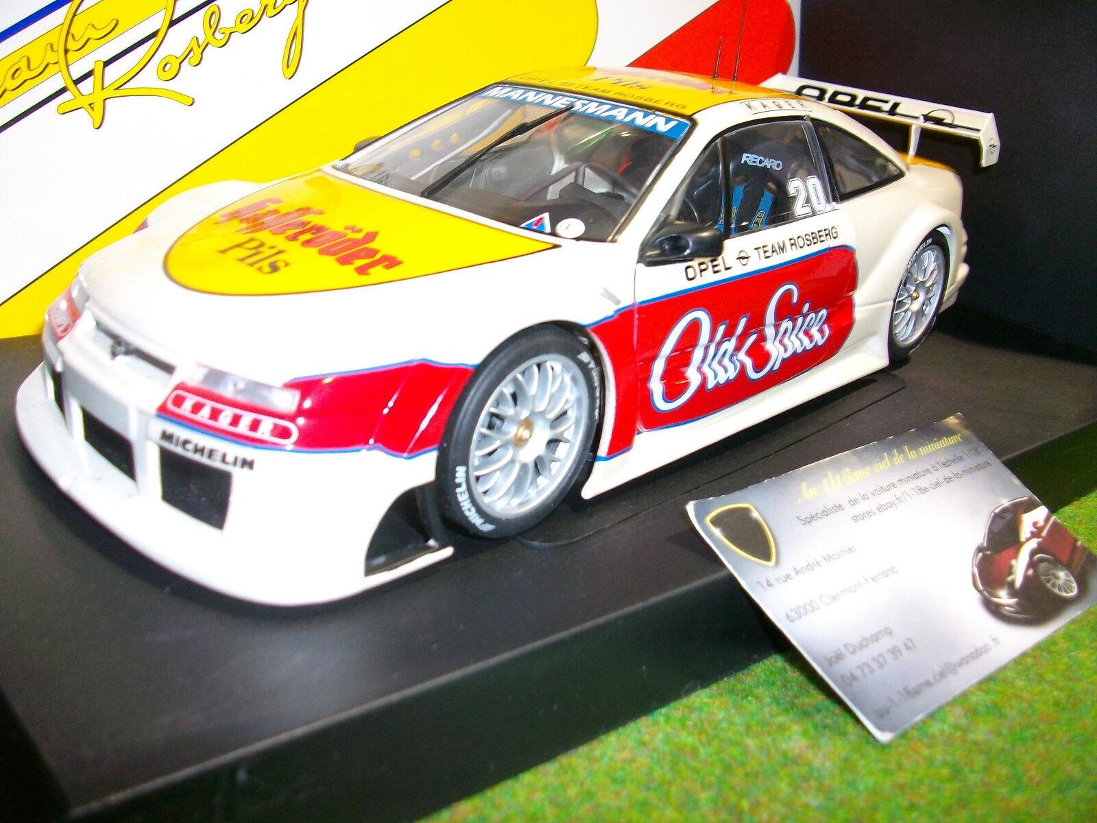 OPEL CALIBRA ITC 1996 TEAM ROSBERG  20 au 1 18 UT Models 180964280 voiture