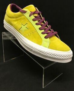 Men-039-s-Converse-One-Star-Ox-Suede-Color-Yellow-Size-12-161616C