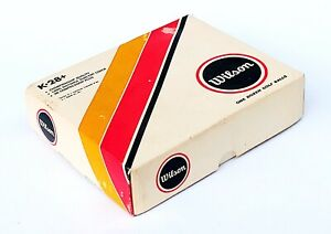 Vintage-Wilson-K28-Golf-Balls-Three-Sleeves-Surlyn-Cover-NIB-w-Outer-Box