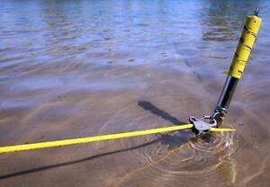 Stainless Steel Shore Spike Large Suits Boats to 30 Feet Stroage Bag Included