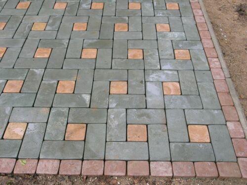 Paver Stone Mold PS 12049 Concrete Stepping Stone, Pavement Stone, Paving mold