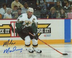 Mike Modano Autographed Signed 8x10 Photo ( Stars HOF ) REPRINT
