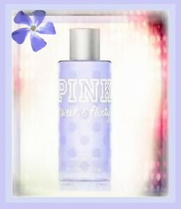 cfb68c1d7b1 VICTORIA S SECRET PINK SWEET   FLIRTY BODY MIST NEW TRAVEL SIZE 2.5 ...