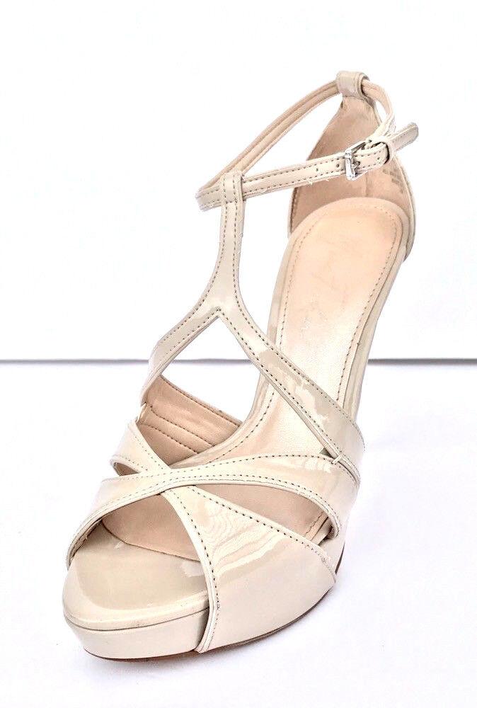 Marc Fisher Tranquil Light Women US 7 M Light Tranquil Natural Platform Heeled Sandal $89 762f01